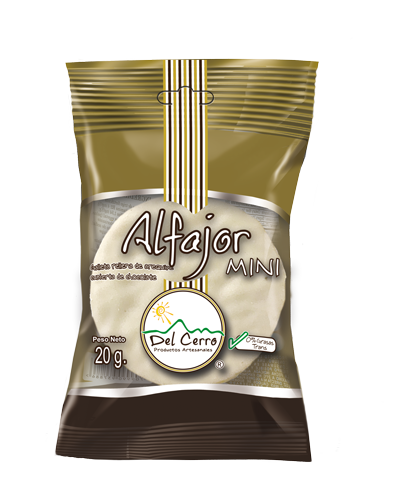 Alfajor Mini (30gr) Blanco x 25 Unidades