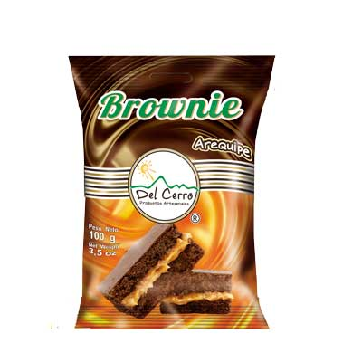 Brownie Arequípe 100gr x 12 Unidades