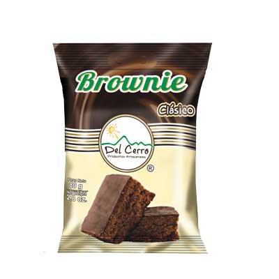 Brownie Chocolate (80gr) x 12 Unidades